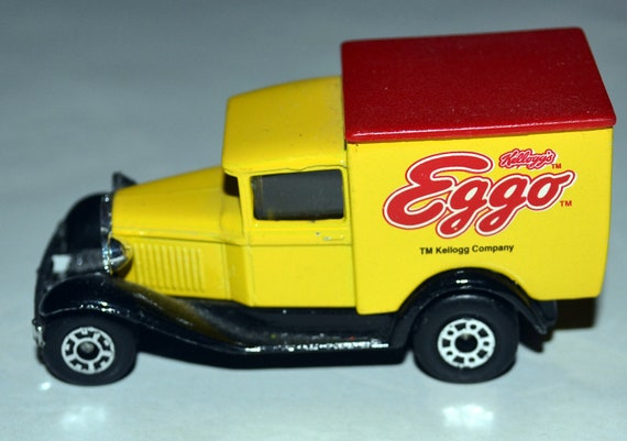 Eggo Truck Kellogg's Matchbox MODEL A FORD vintage 1979 was Mail Order Only