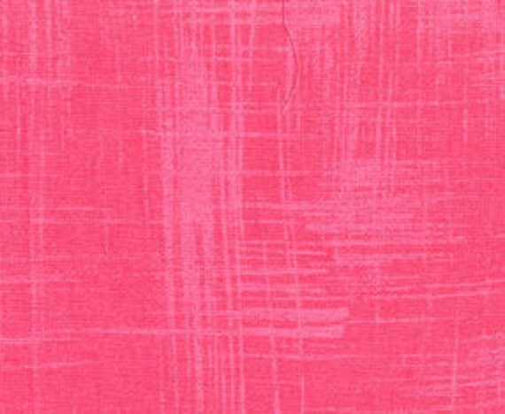 CLEARANCE Pink Painters Canvas Fabric - Garden Wall by Laura Gunn from Michael Miller 1/3 Yard