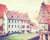 8 x 8 fine art print - Riga Colors