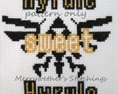Legend of Zelda - Hyrule Sweet Hyrule -  Cross Stitch PATTERN