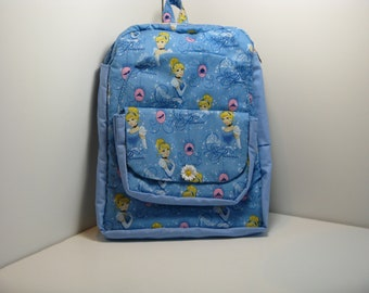 Princess In Blue Preschool Backpack