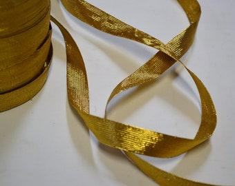 "3/4"" Gold Metalic Braid"