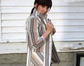 Cotton Blazer - Suit Jacket - 1970s - Small