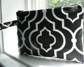 Wristlet - Black and Red