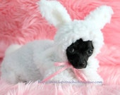 Dog Costume Snuggle Bunny Little Puppy Rabbit Halloween Costume