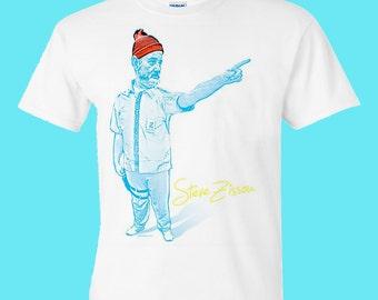 Life Aquatic with Steve Zissou - Bill Murray T Shirt FREE US SHIPPING