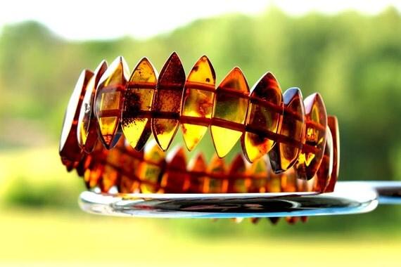 Baltic Amber Bracelet Handmade