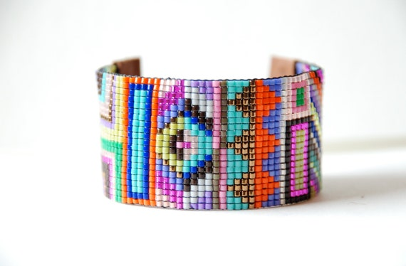 Reserve Listing for Addie- Hand Woven Beaded Friendship Bracelet