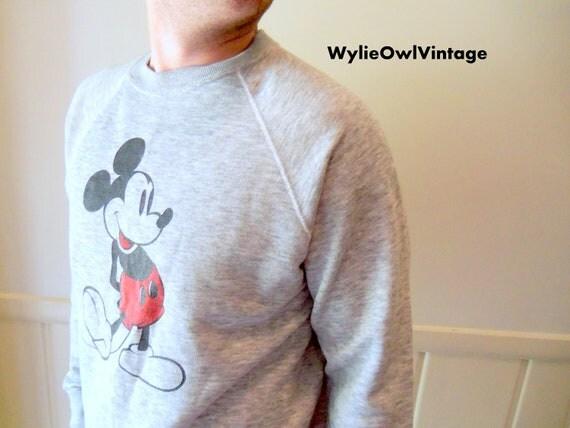 Vintage Mickey Mouse Disney Casuals Sweatshirt 1980s