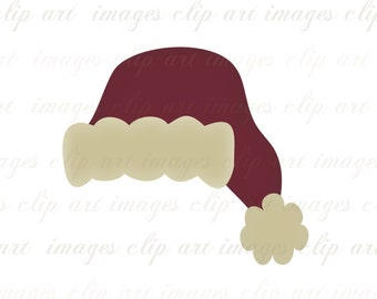 School Colors Santa Hats