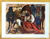 Vintage Print - Diego Rivera - The Liberation Of The Peon