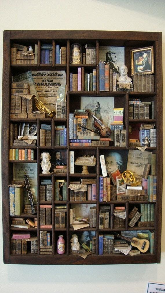 "Miniature mini libraries thematic ""Classical Music"""