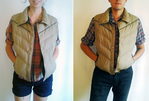 ON HOLD -Vintage L Woolrich Down Outerwear Vest