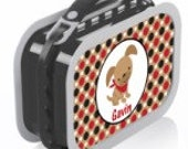 Personalized Puppy Boy Lunchbox