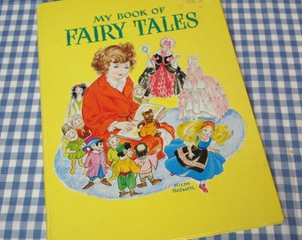 my book of fairy tales, vintage 1970s children's book