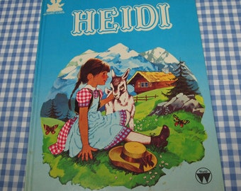 Heidi, vintage 1984 children's book
