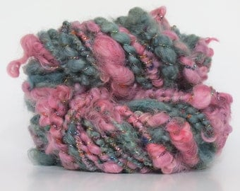 28 yards handspun yarn