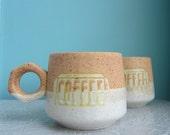 Mod Coffee Cups  Mugs