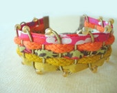 Custom Order. Bracelet: New, Hot Styles from Paris. Fiber, Leather and Japanese Bead Bracelet.
