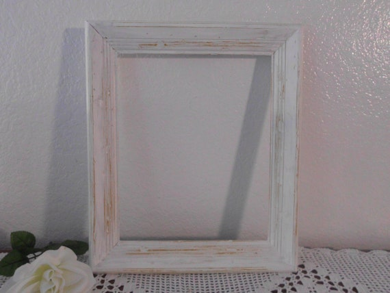 Wedding White Frame Rustic Vintage Shabby Chic Photo Picture Distressed Wood Southwestern Beach Cottage Country Home Decor Decoration