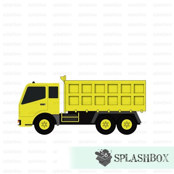 yellow truck clipart - photo #5