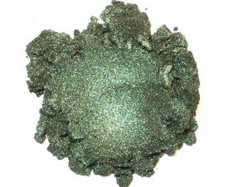 Mineral Eye Shadow EMERALD - 3 Grams or 5 Grams - Rich Vibrant Exotic
