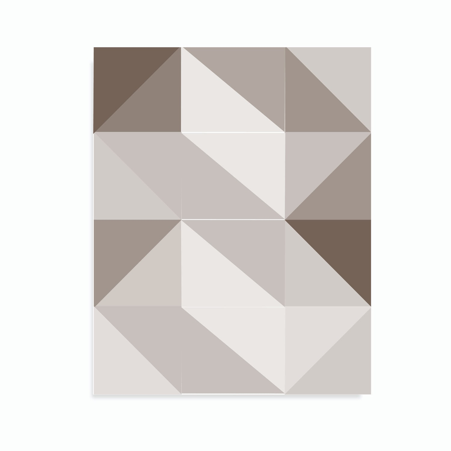 Modern Abstract Art Geometric Wall Art Geometric by ...