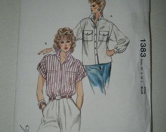 Vintage Kwik Sew Pattern - Oversized Shirt - Uncut