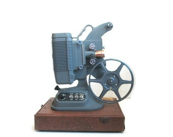 Antique Movie Film Projector 8mm DeJur Model 750