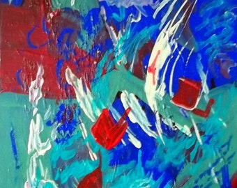 ABSTRACT ART by Contemporary Noted American Artist, Kimberly Rowlett