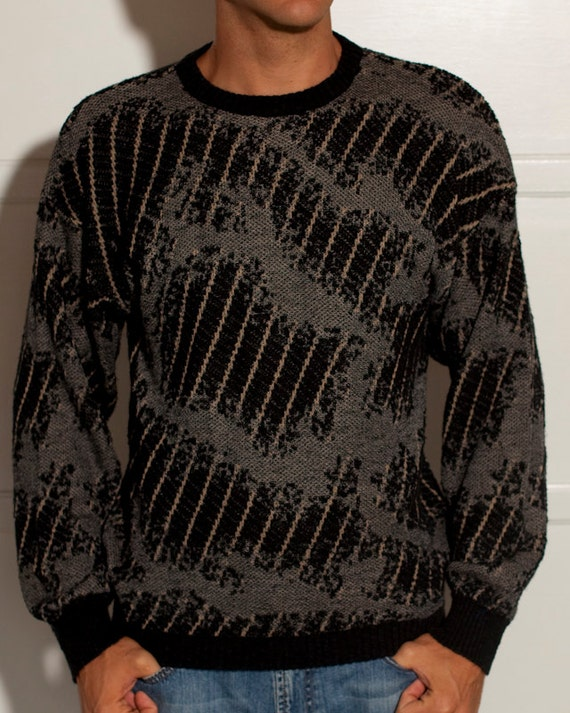 Super Cool and Comfy Men's Sweater - Made in Italy - MONDO - M