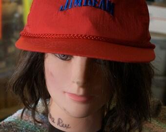 vintage Jim Beam hat
