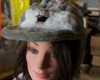 Vintage cartoon Bugs bunny kids hat