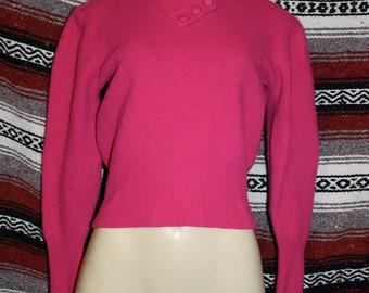 vintage 80s nylon sweat shirt christie & jill