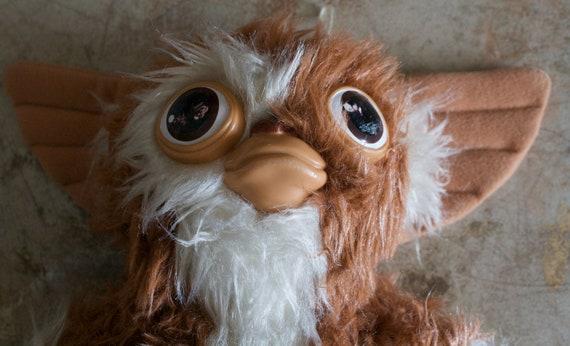 Vintage Gremlins Gizmo Stuffed Plush Animal Toy - Squeaks - 1984 Movie Hasbro Softie
