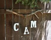 3 Letters- Custom Tree Branch Mobile