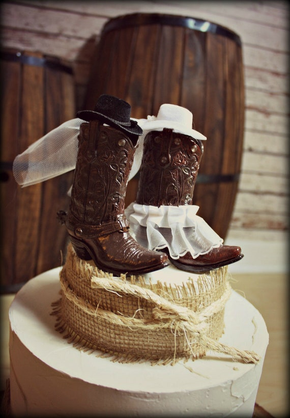 country wedding cake toppers cowboy boots wedding cake topper western themed 3118