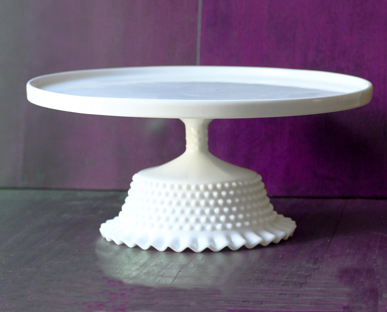 White Vintage Wedding Cake Stand