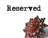RESERVED for Mel... Layaway, first payment 50S