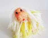 LION vintage rubber toy, his name is Andrey . Use him for assemblage, mixed media or to keep company.