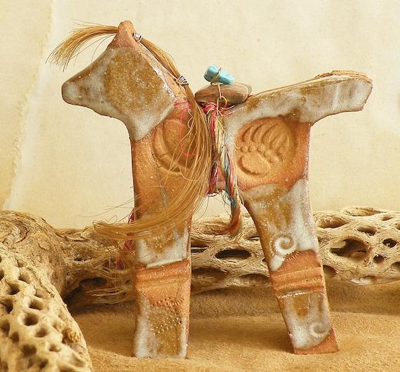 Reserved for LadyJaneDoe horse sculpture - Little Bear.