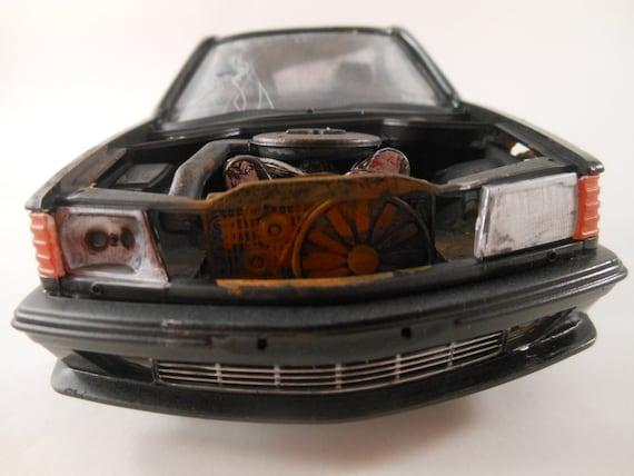Mercedes 500 sel 1/24 scale model car in black