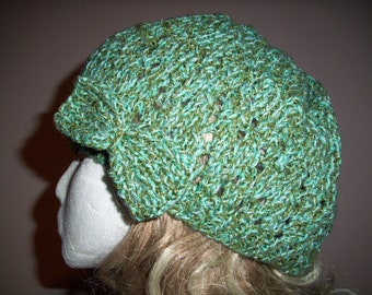 Multi Greens colored Hat With Bow or without
