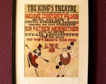 Poster (framed)