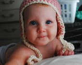 Private Listing slw93. Ear flap hat 6-12 months