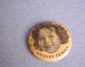 Vintage Shirley Temple Pocket Mirror Fox Films Collectible