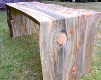DOUBLE WATERFALL BENCH
