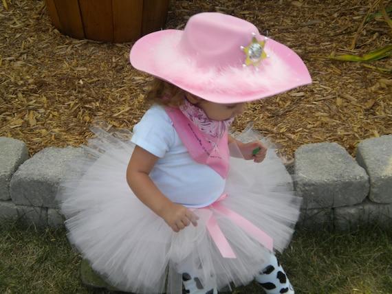 Pink Cowgirl Tutu Set Sizes 18-24 mos - 2/3 - 4/5 - 6/7