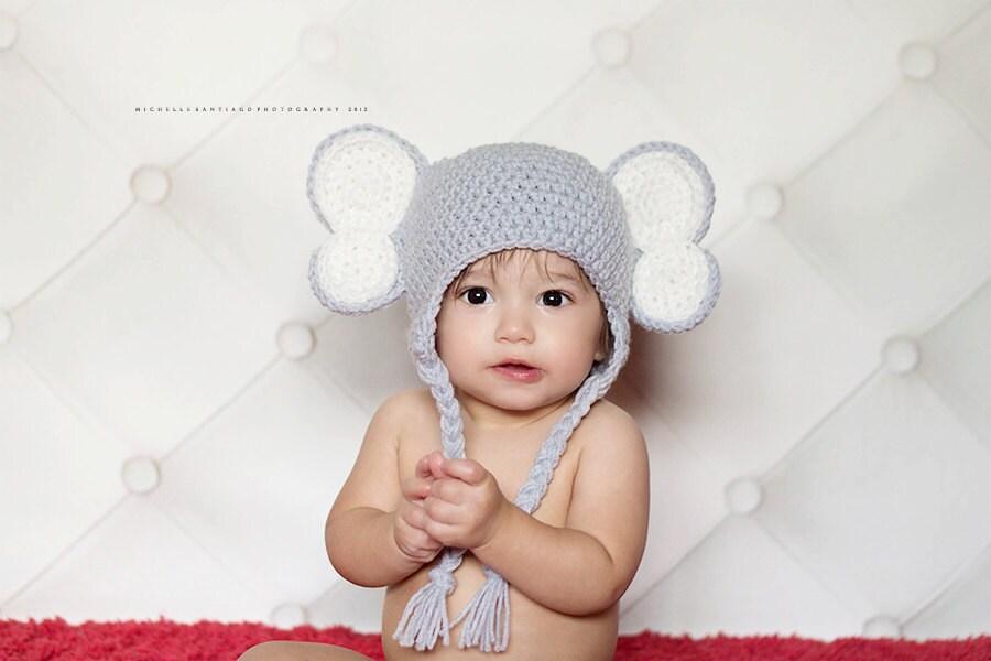 Crochet Elephant Hat Pattern Elephant Hat Elephant Crochet