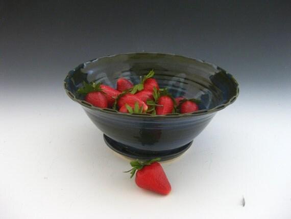 Blue Berry Bowl - Colander